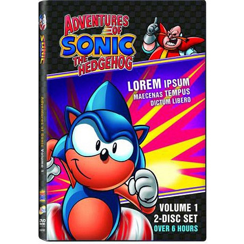 Adventures Of Sonic The Hedgehog, Vol. 1 (Collector's Edition) (COLLECTORS)