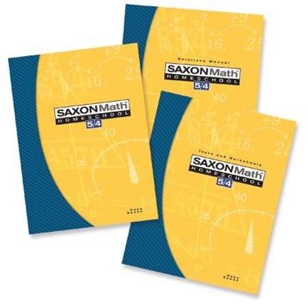 Saxon Math 5/4 Homeschool Kit (Math Literature Kit)
