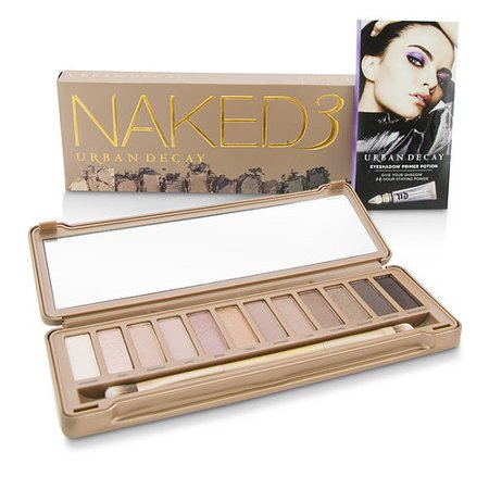 Urban Decay by URBAN DECAY - Naked 3 Eyeshadow Palette: 12x Eyeshadow, 1x Doubled Ended Shadow Blending Brush --- - WOMEN](Urban Decay Electric Palette Halloween)