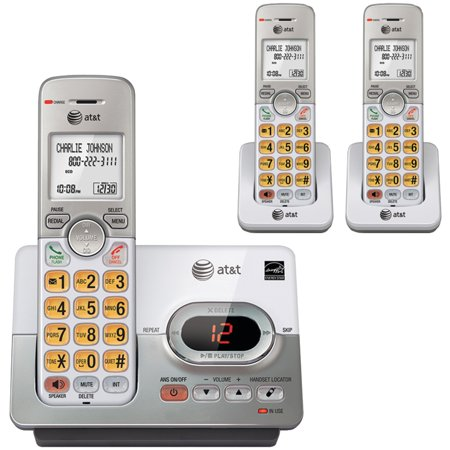 At El52303 3 Handset Answering System With Caller Id   Call Waiting