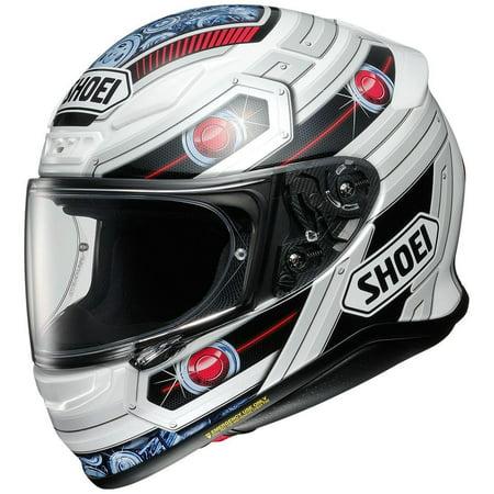 - Shoei RF-1200 Trooper Helmet TC-10 (White, X-Large)