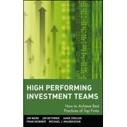 High Performing Investment Teams - eBook