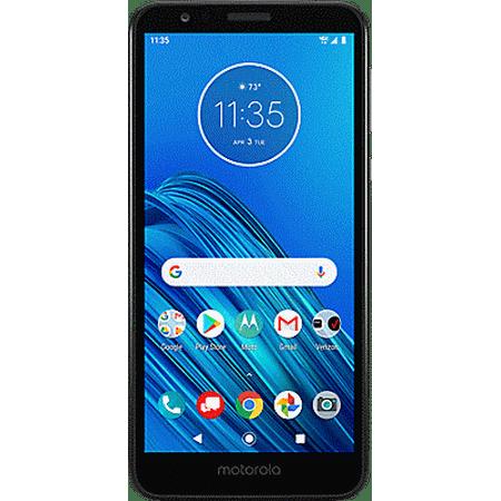 Verizon Wireless Motorola Moto E6 16GB Prepaid Smartphone, Black