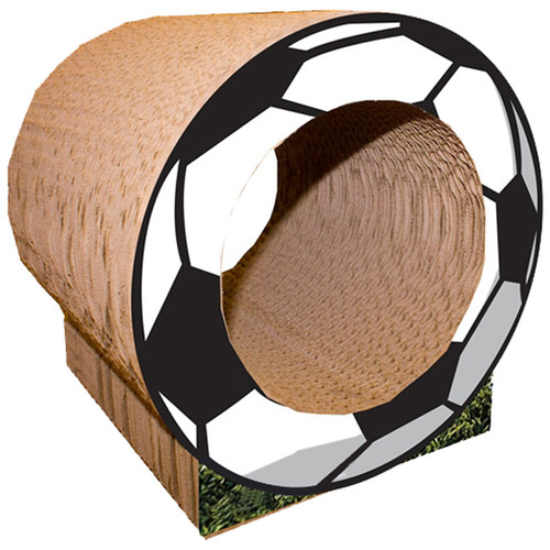 Imperial Cat Scratch 'n Shapes 10'' Small Soccer Ball Cat Perch