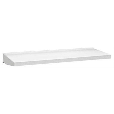 gladiator gawa30sfzw 30-inch steel shelf, white