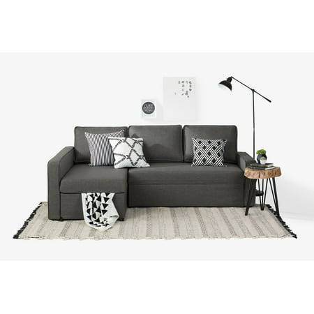 South S Live It Cozy Sectional Sofa Bed With Storage Multiple Finishes