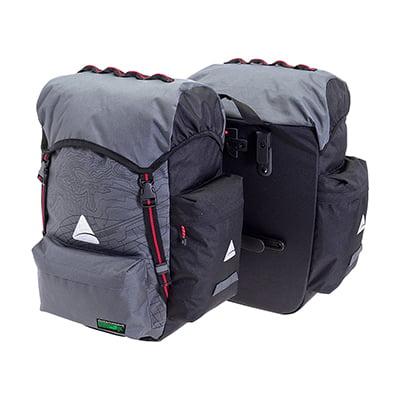 Traveller Pannier - BAG AXIOM PANNIER SEYMOUR O-WEAVE P55+ GY/BK