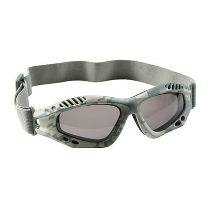 Army Digital Camo Ventec Tactical Goggles