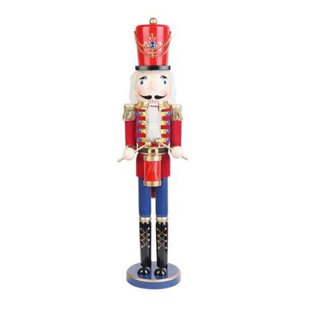 The Holiday Aisle Nutcracker Drummer Soldier in Red