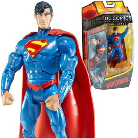 Heroes Collectors - DC Comics Unlimited Superman Action Figure Collector Toy Justice Hero Mattel Y6705