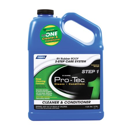 Protec Rubber Roof - Camco Mfg 41068 Pro-Tec Rubber Roof Cleaner Gal