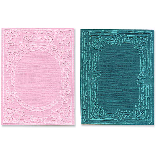 Tim Holtz Alterations Texture Fades Embossing Folders, Book Covers