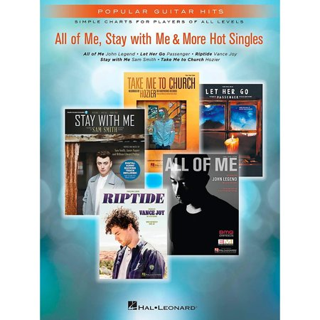 Hal Leonard All Of Me, Stay With Me & More Hot Singles Easy Guitar Tab (Singles Guitar Tab)