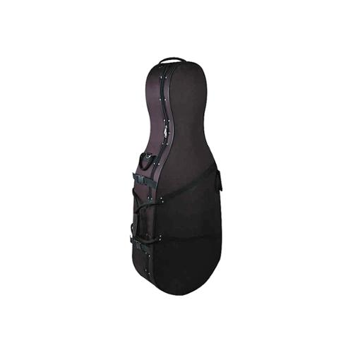Bellafina Featherweight Cello Case Black 1 2 Size by Bellafina