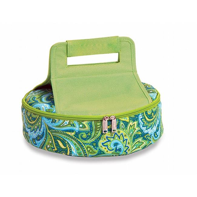 Picnic Plus PSM-720GP Cake n Carry - Green Paisley
