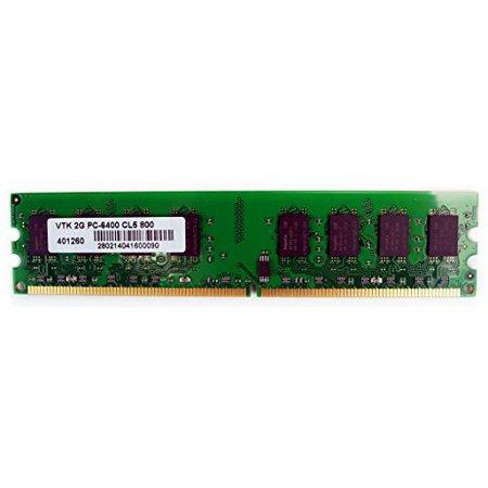 VisionTek 2GB DDR2 800 MHz (PC2-6400) CL5 DIMM, Desktop Memory - 900434
