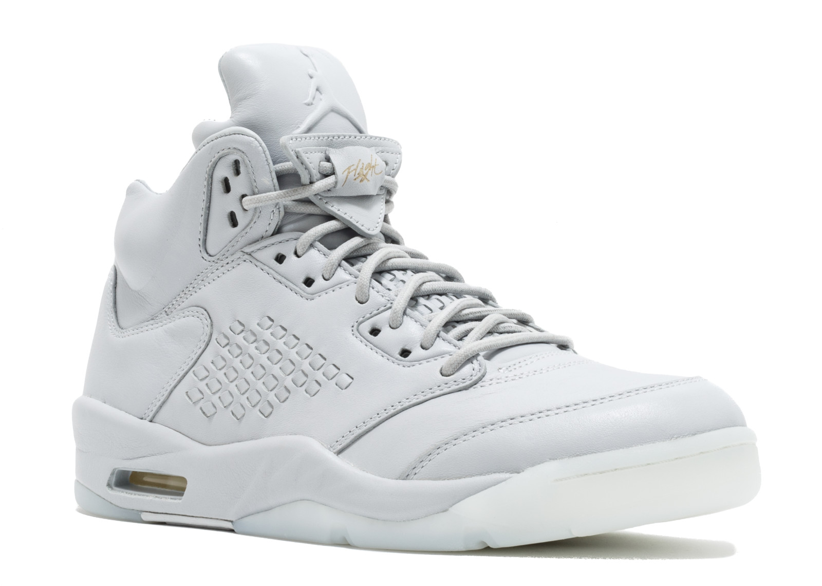 86ad8198b80c23 Men - Air Jordan 5 Retro Prem  Pure Platinum  - 881432-003 - Size 14