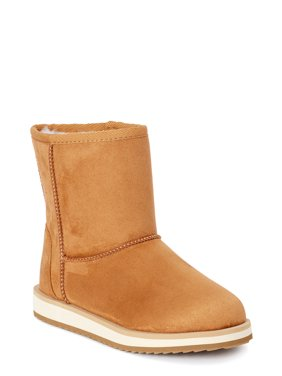 Wonder Nation Cozy Faux Shearling Boot (Little Girls & Big Girls)
