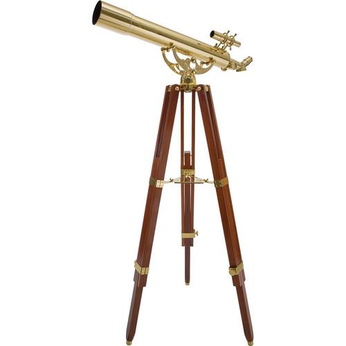 "Celestron Ambassador 80 AZ 3.1""/80mm Brass Refractor Tele..."