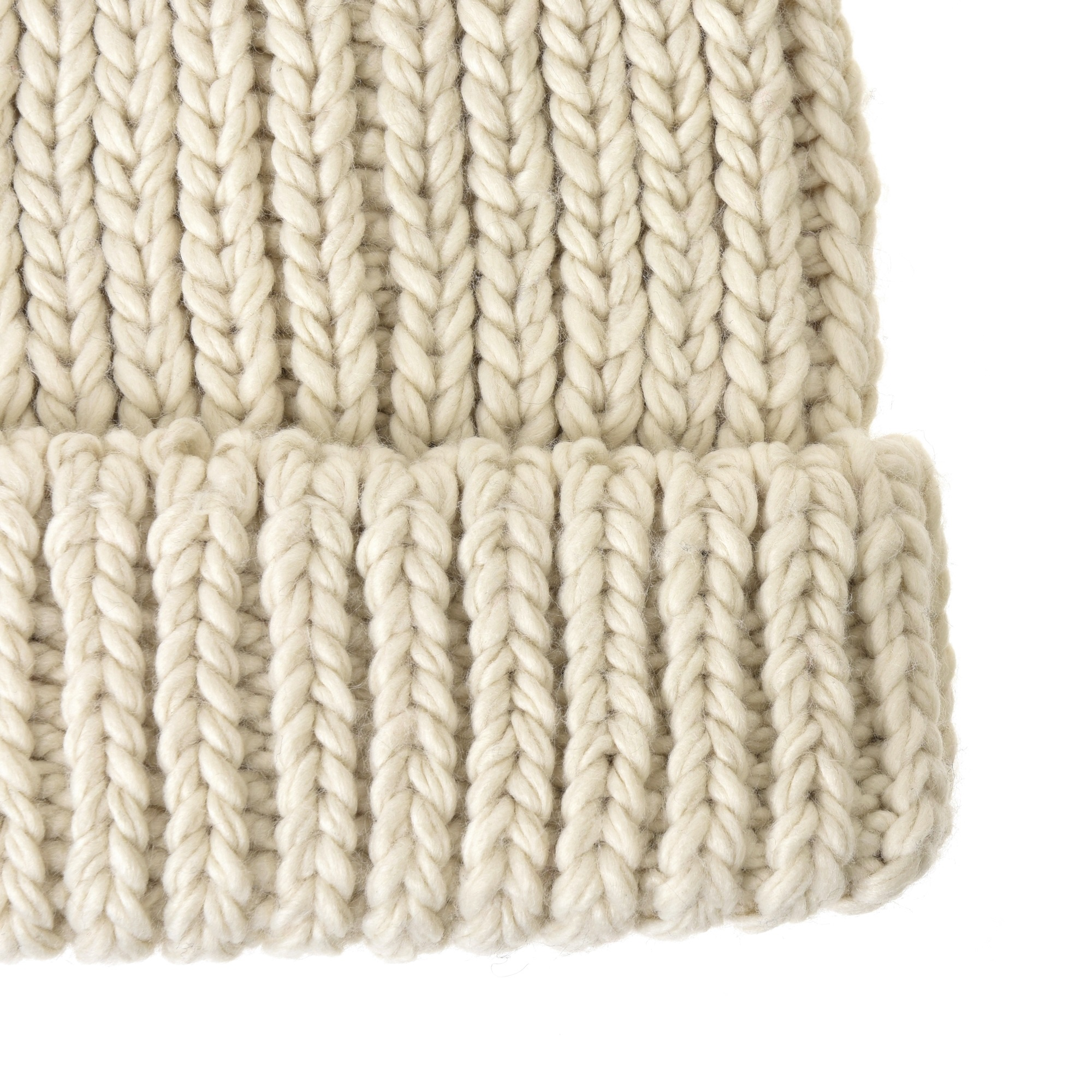 a30330ada06 WITHMOONS Knit Beanie Hat Basic Plain Thick Crochet Watch Cap KR5911 (Ivory)  - Walmart.com