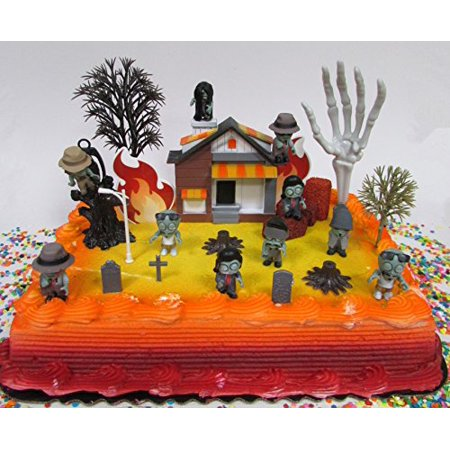 Walking Dead Inspired End Of The World ZOMBIES Are Coming Birthday