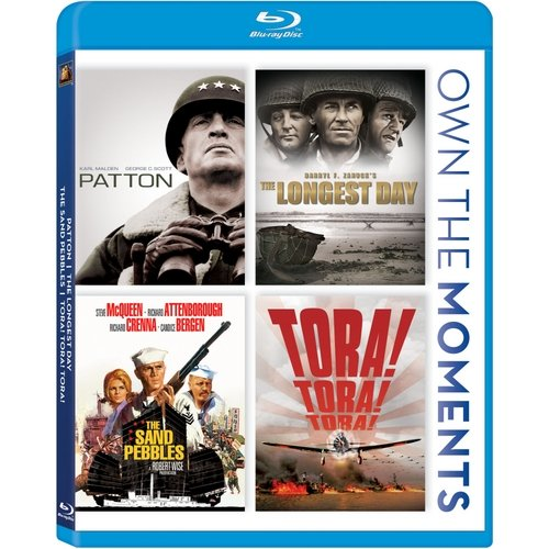 Patton / The Longest Day / The Sand Pebbles / Tora! Tora! Tora! (Widescreen)