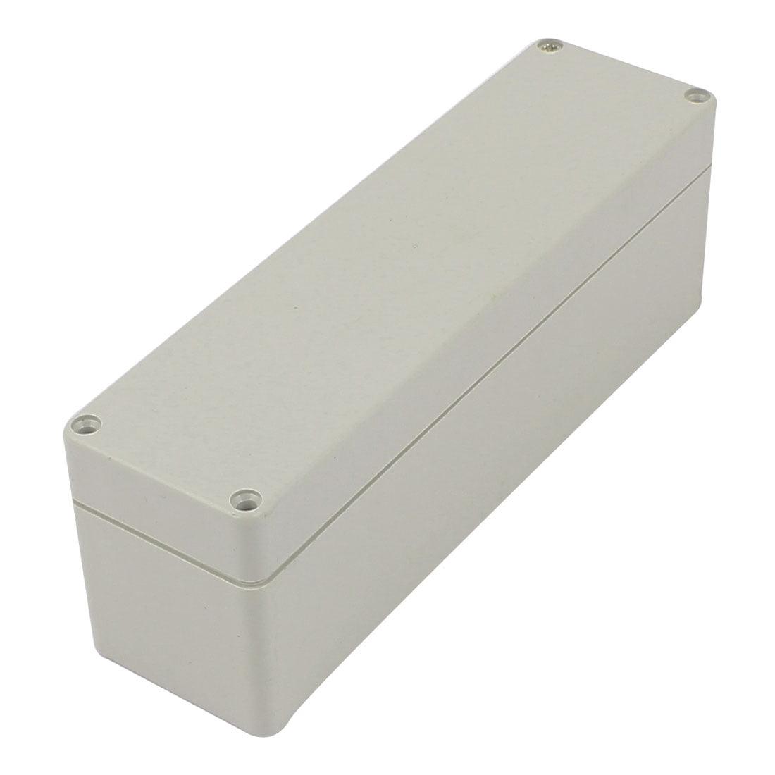 160mm x 45mm x 55mm Rectangular Waterproof Plastic DIY Junction Box Case - image 3 of 3