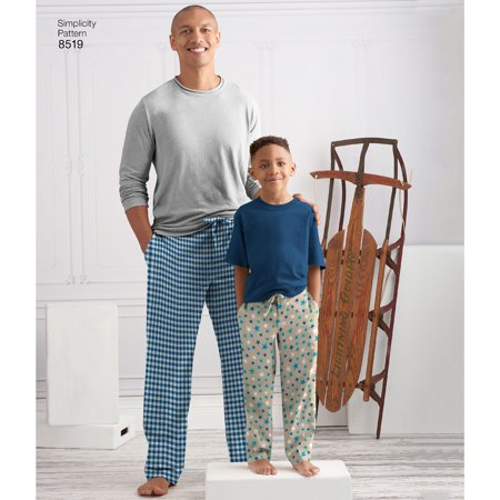 Simplicity Boys' And Men's Slim Fit Lounge Pants-S-L/Xs-Xl - image 1 of 1