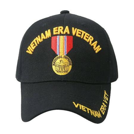 US Military Cap VIETNAM VETERAN Hat Baseball Ball Purple Heart Infantry Army USA (7mc049_Vietnam Era Veteran Medal)