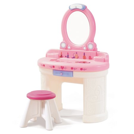 Step2 Fantasy Vanity Girls Pretend Vanity Play Set