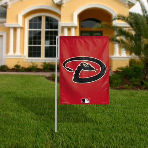 "Arizona Diamondbacks 11"" x 15"" Garden Flag - No Size"