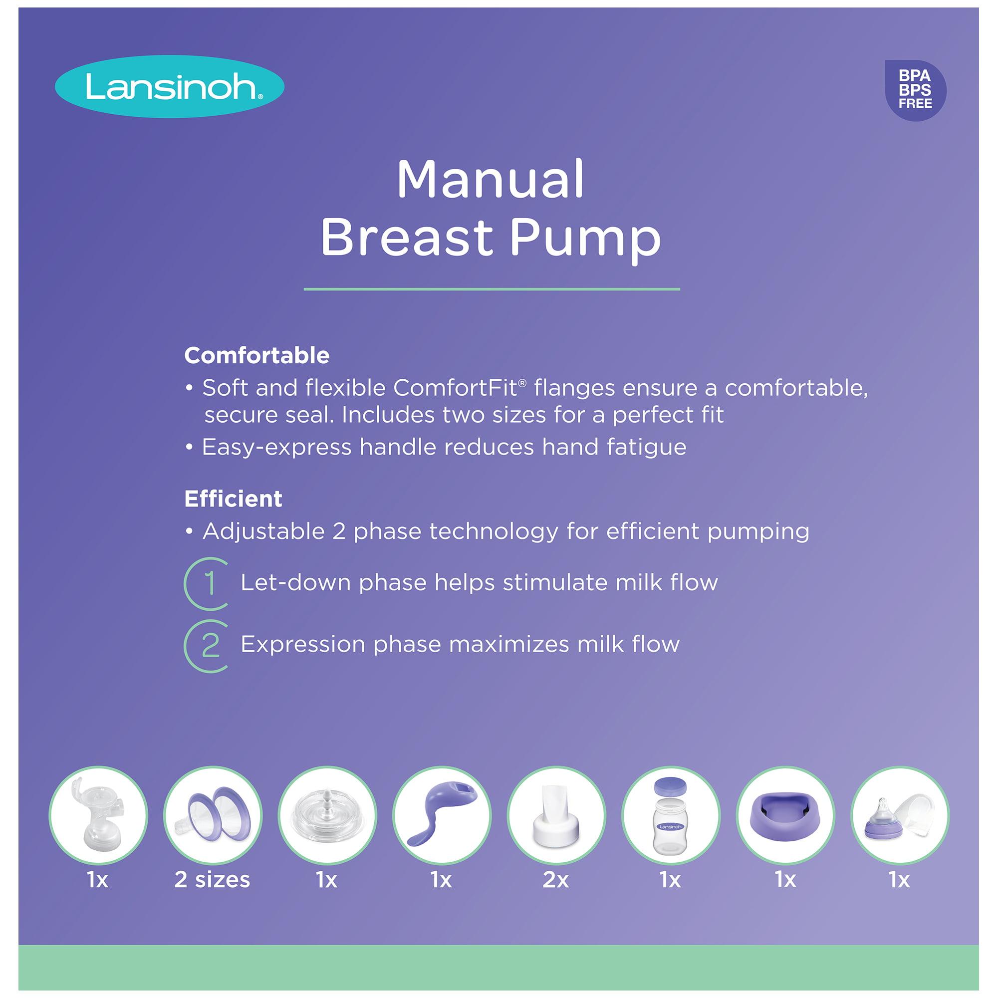 Lansinoh Manual Breast Pump Walmart Com Walmart Com