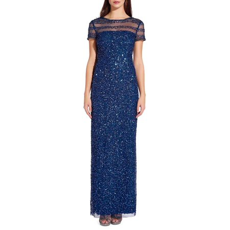 Beaded Column Dress