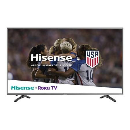 """Hisense 43R7E - 43"""" Class (42.6"""" viewable) - R Series LED TV - Smart TV - Roku TV - 4K UHD (2160p) 3840 x 2160 - HDR - direct-lit LED"""
