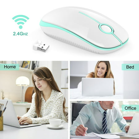 Travel Mouse Cable (Wireless Mouse 2.4G Computer Mouse Foldable Travel Mouse Mini Mice USB Receiver for Laptop PC Computer Desktop)