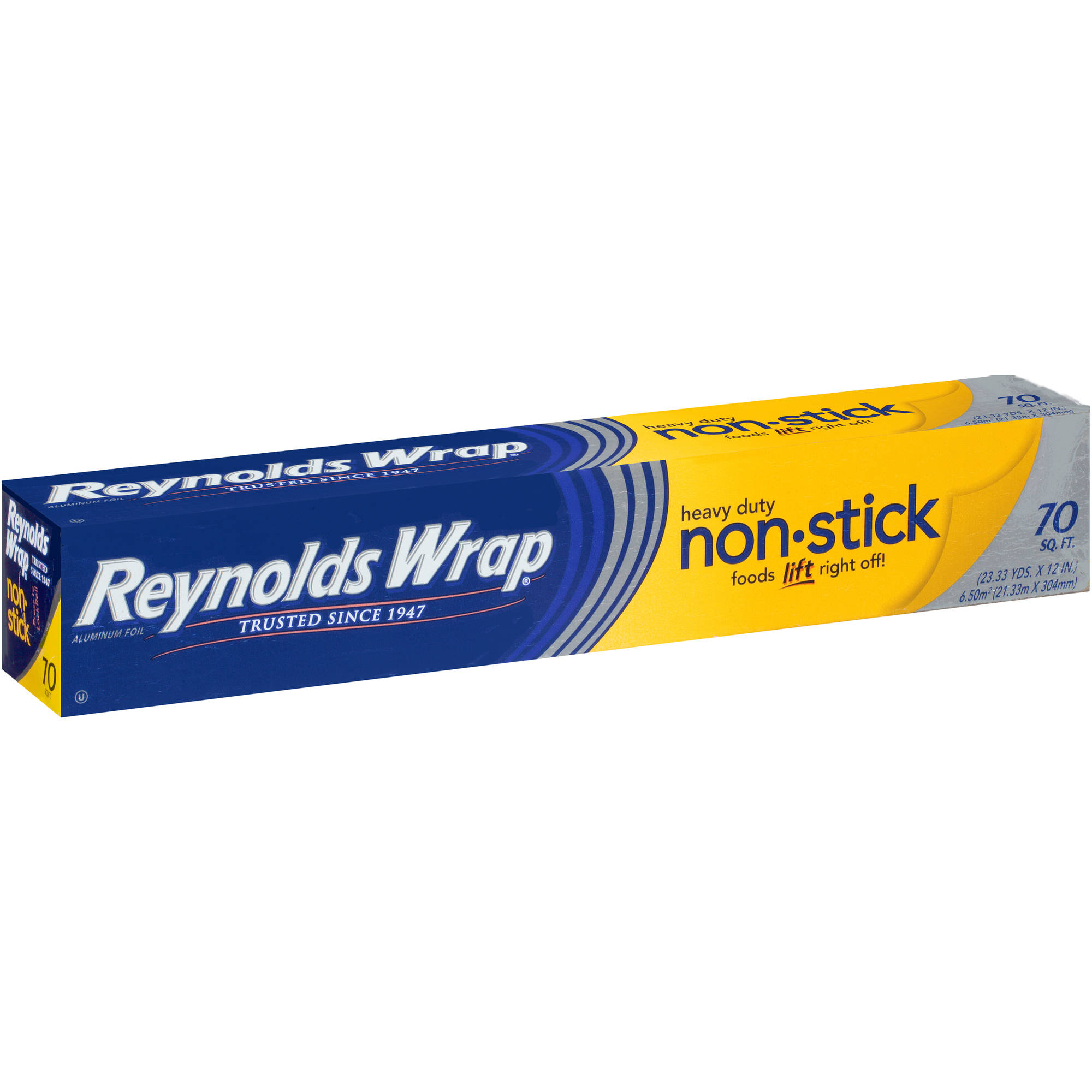 Reynolds Wrap Heavy Duty Non-Stick Aluminum Foil, 70 sq ft