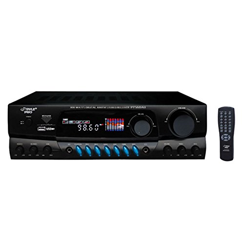 PYLE PT560AU 300-Watt Digital AM FM USB Stereo Receiver Consumer Electronics by Pyle