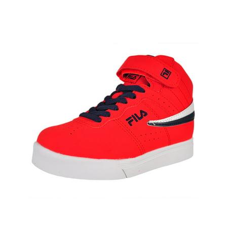 Vulc Mens Skateboard Shoes - Fila Boys' Vulc 13 Hi-Top Sneakers (Sizes 11 -5)