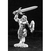 Reaper Miniatures Hakan, Barbarian Of Heimda #03235 Dark Heaven Unpainted Metal