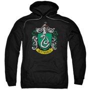 Harry Potter Slytherin Crest Mens Pullover Hoodie