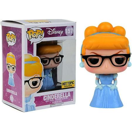 Disney Princess Funko POP! Disney Cinderella Vinyl Figure [Nerd with  Glasses]