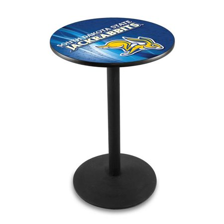 Holland Bar Stool L214B4236SDakSt-D2 42 in. South Dakota State Jackrabbits Pub Table with 36 in. Top - image 1 of 1