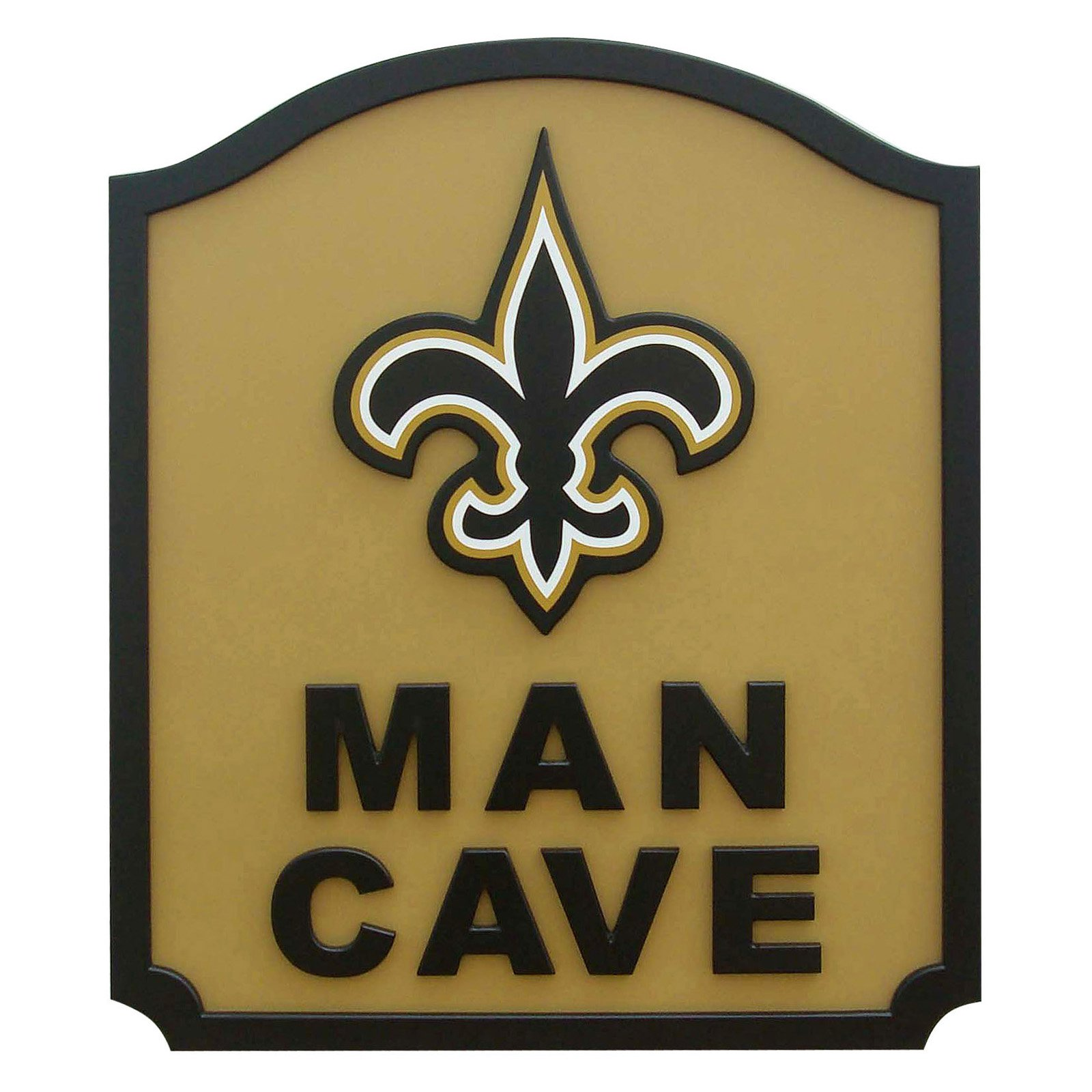 Fan Creations NFL Man Cave Shield - Walmart.com