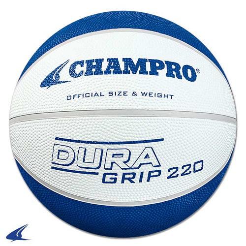 CHAMPRO Super Grip Rubber Basketball Women's White/Blue