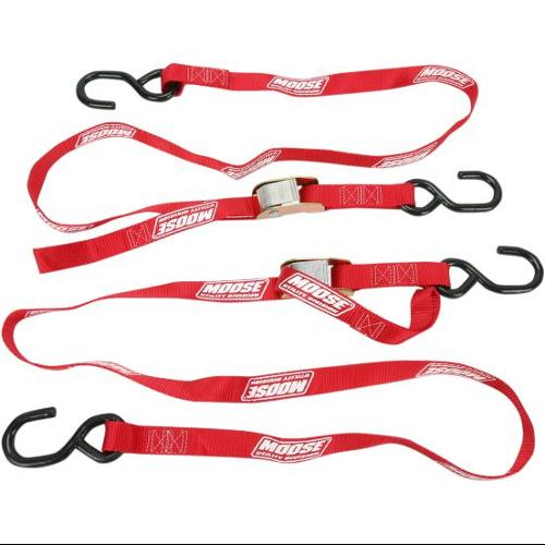 Moose Utility Utility Heavy Duty Tie Downs Red