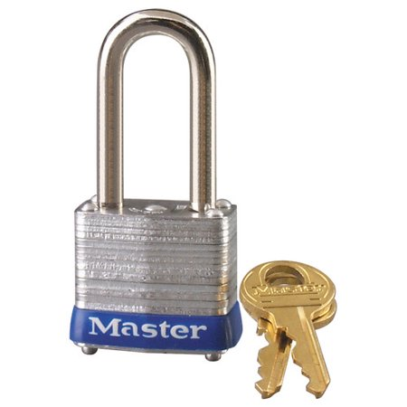 "Master Lock 7LF Different Keyed Padlock, 1-1/8""W"