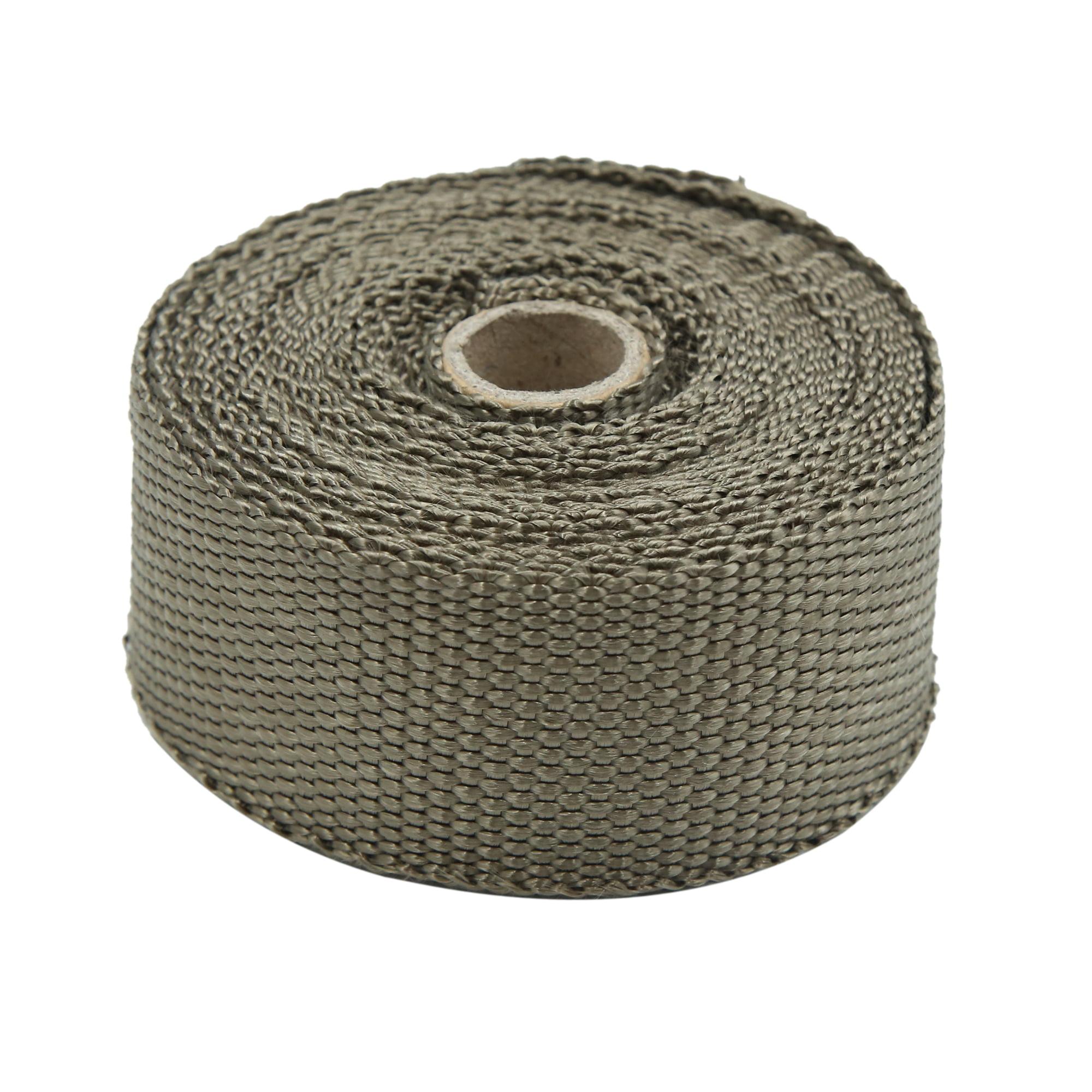 7.5M Titanium Fiber Exhaust Heat Insulating Wrap Sealing Tape for Car - image 1 of 5