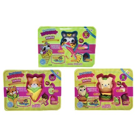 Smooshy Mushy Box : Smooshy Mushy Bentos Box Squeezable Squishy Friends Yummy Peppy Pup, Sassy Fussy Fox, & Gabby ...