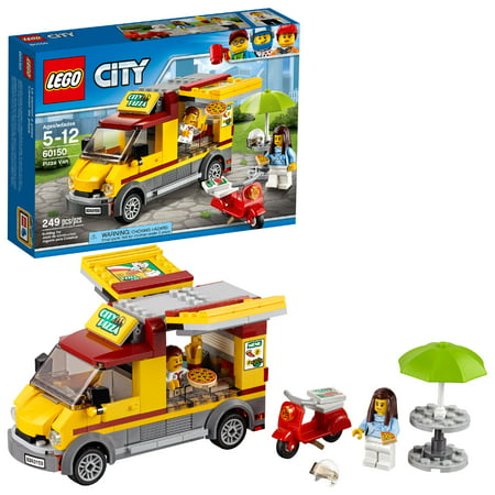Logo Van - LEGO City Great Vehicles Pizza Van 60150