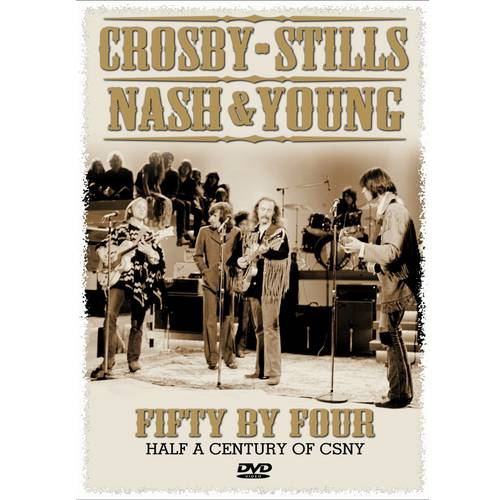 Crosby, Stills & Nash: Fifty By Four (Music DVD)